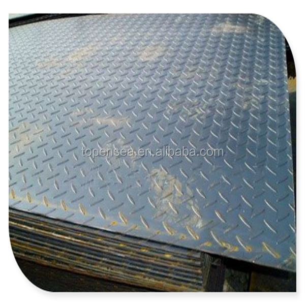 Steel Lentil sheet/embossed steel plate /riffled steel plate