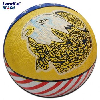 Official size 7 & weight Rubber basketball