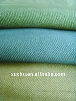 180gsm plain dyed poly lightweight denim fabric