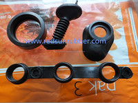 vulcanized rubber molded component