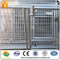 Wholesale comfortable and customizable safe and strong galvanized steel cheap dog kennels cages Huilong factory direct