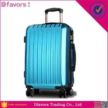 Hot selling trolley travel bag abs spinner hard shell diamond luggage luggage carrier bag with high quality