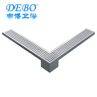 Trench drain grating cover Garage floor drain covers floor drainage