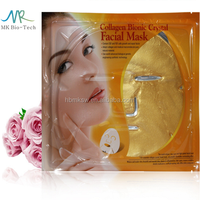 Most Effective Anti-aging And Anti-wrinkle 100% Herbal Ingredients Private Label Gold Collagen Crystal Facial Mask