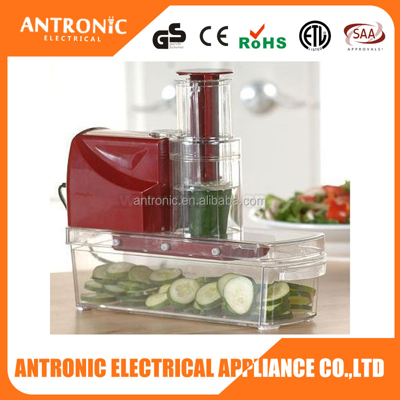 Antronic ATC-MS-PC200 hottest 8 in 1 electric vegetable slicer new commercial vegetable slicer dicer vegetable slicer and dicer