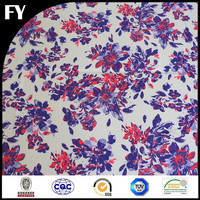 Factory digital custom printed mikado fabric wedding dress