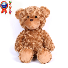 JH-038 Cheap Custom Made Plush & Stuffed Animal Baby Comforter Cartoon Character Soft Plush Toy Teddy Bear