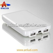 2012 high capacity portable power bank alkaline charger