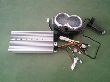 60v 2200w brushless electric vehicle controller