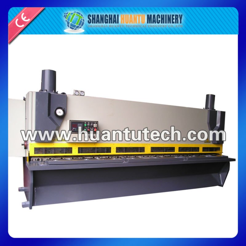 Hydraulic sheet shearing guillotine prices, japan rotary encoder, plate cutting machine