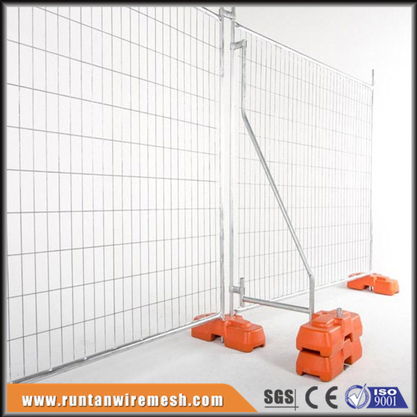 AS4687-2007 factory hot dipped galvanized removable portable temporary construction fence panel hot sale (ISO9001,CE)