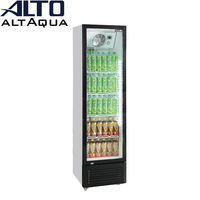 180w 300L Single Door Vertical Refrigerator