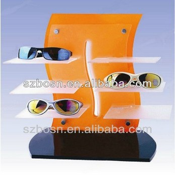 professional good price acrylic glasses box display for sale
