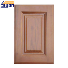 mdf imitate mahogany vinyl wrap kitchen cabinet solid wood
