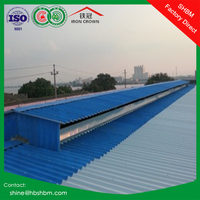 High strength anti corrosion insulated mgo roofing tiles / corrugated cheap roofng sheets