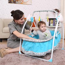 Wholesale baby cradle swing electric automatic baby bed with remote controller