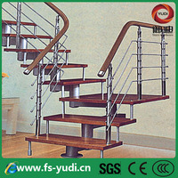 modern stair metal used for building