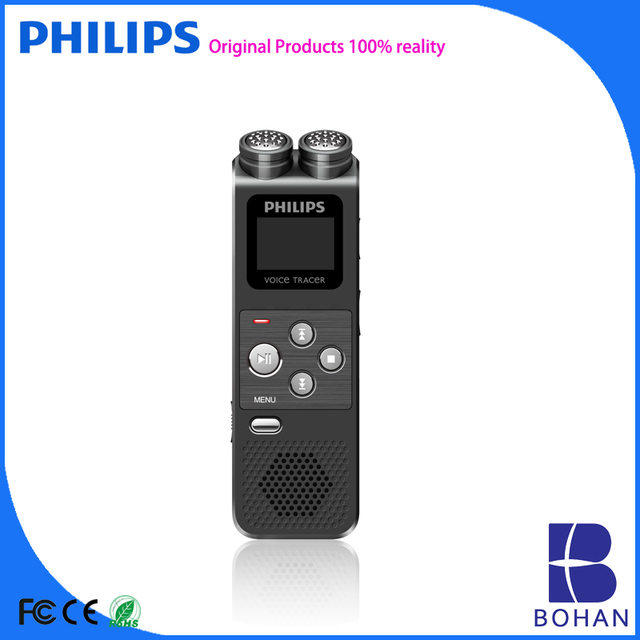 PHILIPS Digital Voice Recorder With Micro TF Card Slot up to 64GB