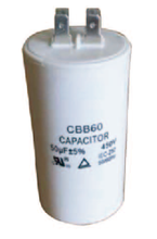 CBB60 Plastic Film Running Motor Starting Capacitor