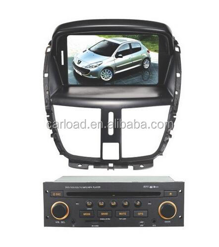2 Din peugeot 206 car with android car dvd for Peugeot 206/207