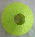 round Paper lantern party decoration wedding decoration green
