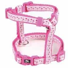 Jacquard Cat Harness For Walking,Pink Cat Harness Jacket, Dots Cat Harness Funny