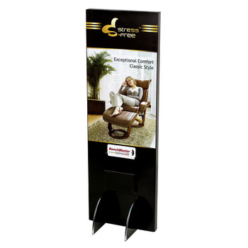 Custom POP Advertising Paperboard Display Poster Standee