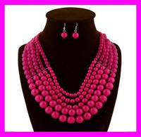 Fashion popular jewelry ladies indian bridal jewelry sets online HD3502