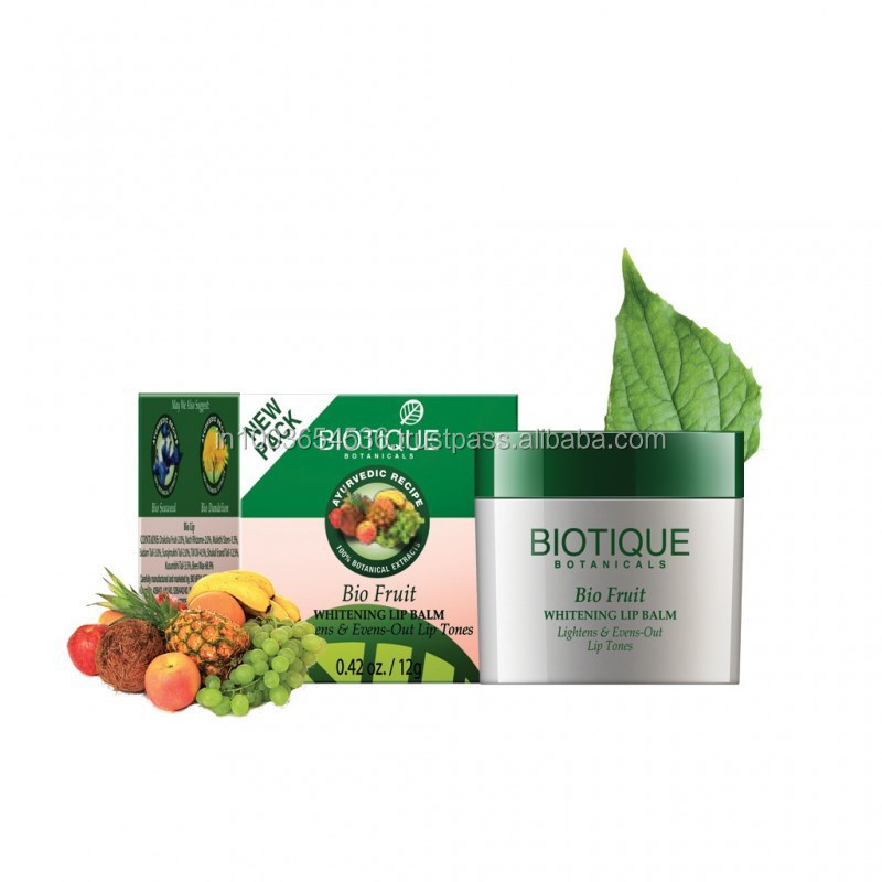 Biotique Bio-Fruit Whitening Lip Balm - 12g