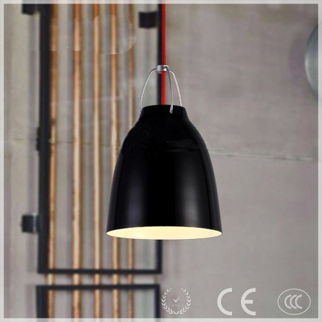 modern industrial style black/white cup shape vintage pendant lamp/lighting