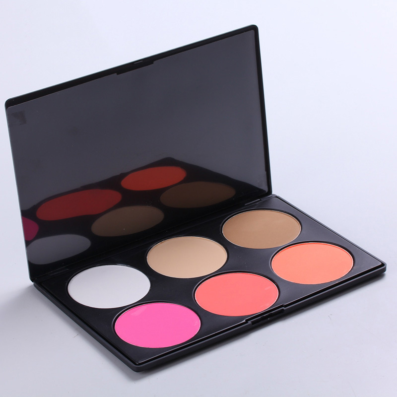 Top Sales 6 Colors Long Lasting Makeup <strong>Face</strong> Blush Palette