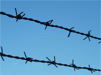 2014 new product GI barbed wire/barbed wire fence building made in china