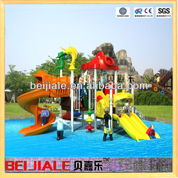 2015 water playground equipment with slide