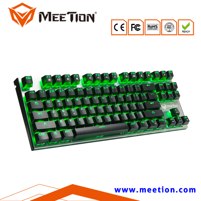 Aluminum RGB 87 Keys Portable Mechanical Gaming Keyboard
