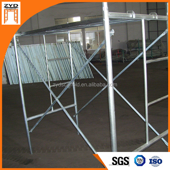 Galvanzied Steel Frame Scaffolding