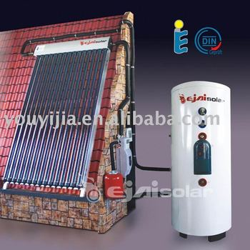 split solar water heater, separate pressurized solar water heater