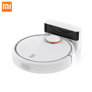 "XIAOMI Robotic Vacuum Cleaner MIHOME Original WiFi app Control ""S"" Path Cleaning Mi Robot Vacuum"