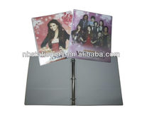 PVC Ring binder/file folder 4 O rings