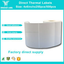 Wholesale Zebra Printer direct thermal shipping label yellow