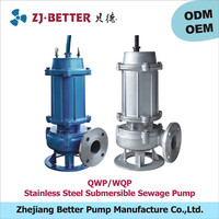 60hp stainless steel submersible automatic pumps for sewage water