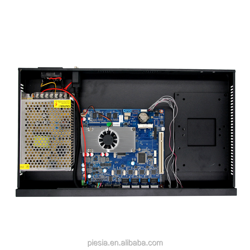 1U Linux Intel Compact PC , with ATOM CPU, Celeron CPU