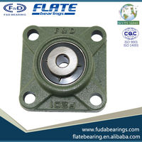 2015 F&D FLATE UCF206-18 Gcr15 High Precision bearing for High speed low noise high automobile motorcycle made in china