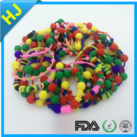 Cheap Wholesale custom silicone chain link bracelet with high quality