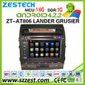 ZESTECH Wholesale car stereo parts dvd radio gps for toyota Land Cruiser android car gps