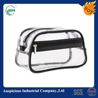 Promotional Design clear plastic zippered storage bag