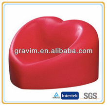 Red heart cellphone holder stress ball