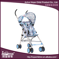 Light Weight High Quality Doll Stroller for Baby with Aluminum Alloy Frame and Removable Canopy