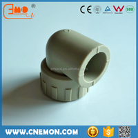 Hot Sale Drinking water PPR Plastic Pipe Fitting Female Elbow 90