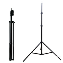 professional 2 meter shrink phone camera light tripod stand for video shooting