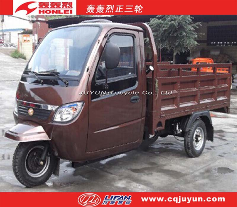 heavy loading water cooling engine tricycle/Cabin Cargo Tricycle made in China HL150ZH-C12